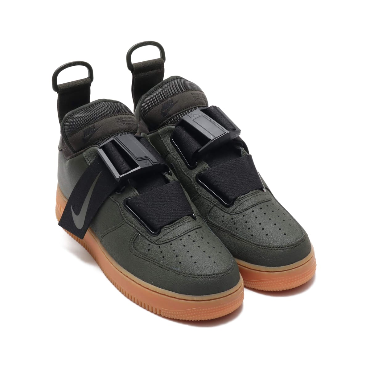 NIKE AIR FORCE 1 UTILITY  SEQUOIA/BLACK-GUM MED BROWN 18HO-I_photo_large