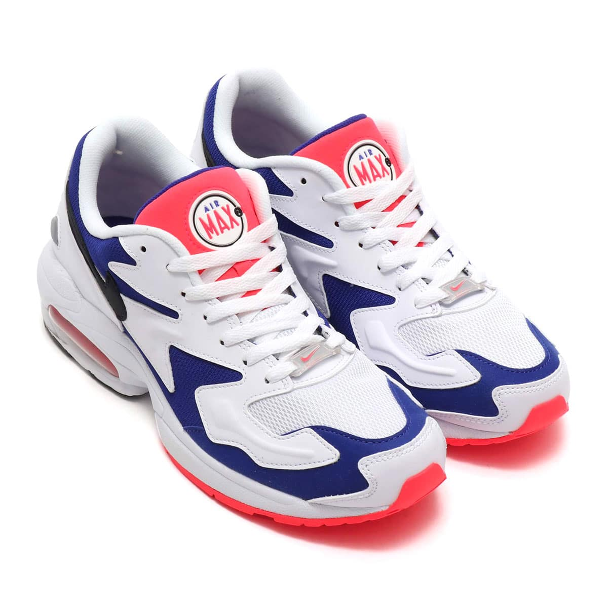NIKE AIR MAX2 LIGHT WHITE/BLACK-ULTRAMARINE-SLR RD 19SU-S_photo_large