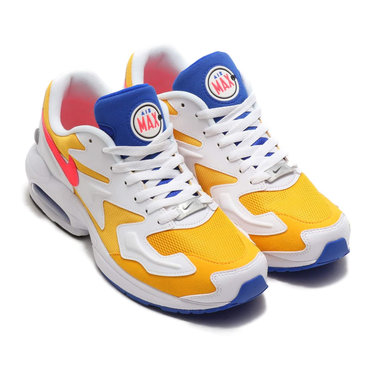 1311f0b063 NIKE AIR MAX2 LIGHT UNIVERSITY GOLD/FLASH CRIMSON-RACER BLUE 19SP-I