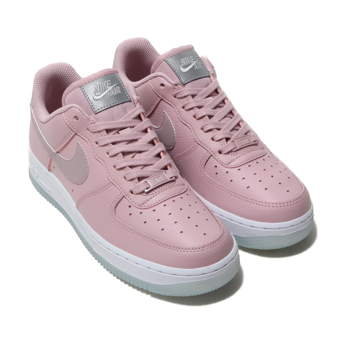 NIKE WMNS AIR FORCE 1 '07 ESS PLUM CHALK/PLUM CHALK-WHITE-MTLC LUSTER 19SP-I_photo_large