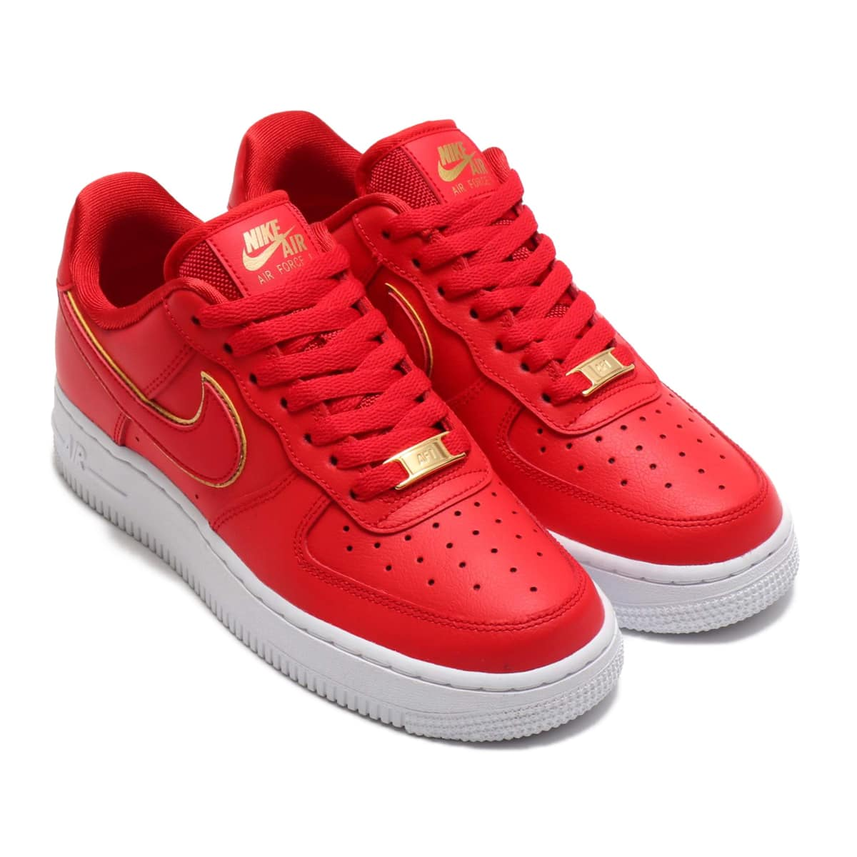 NIKE WMNS AIR FORCE 1 '07 ESS UNIVERSITY RED/UNIVERSITY RED-WHITE 19HO-S_photo_large
