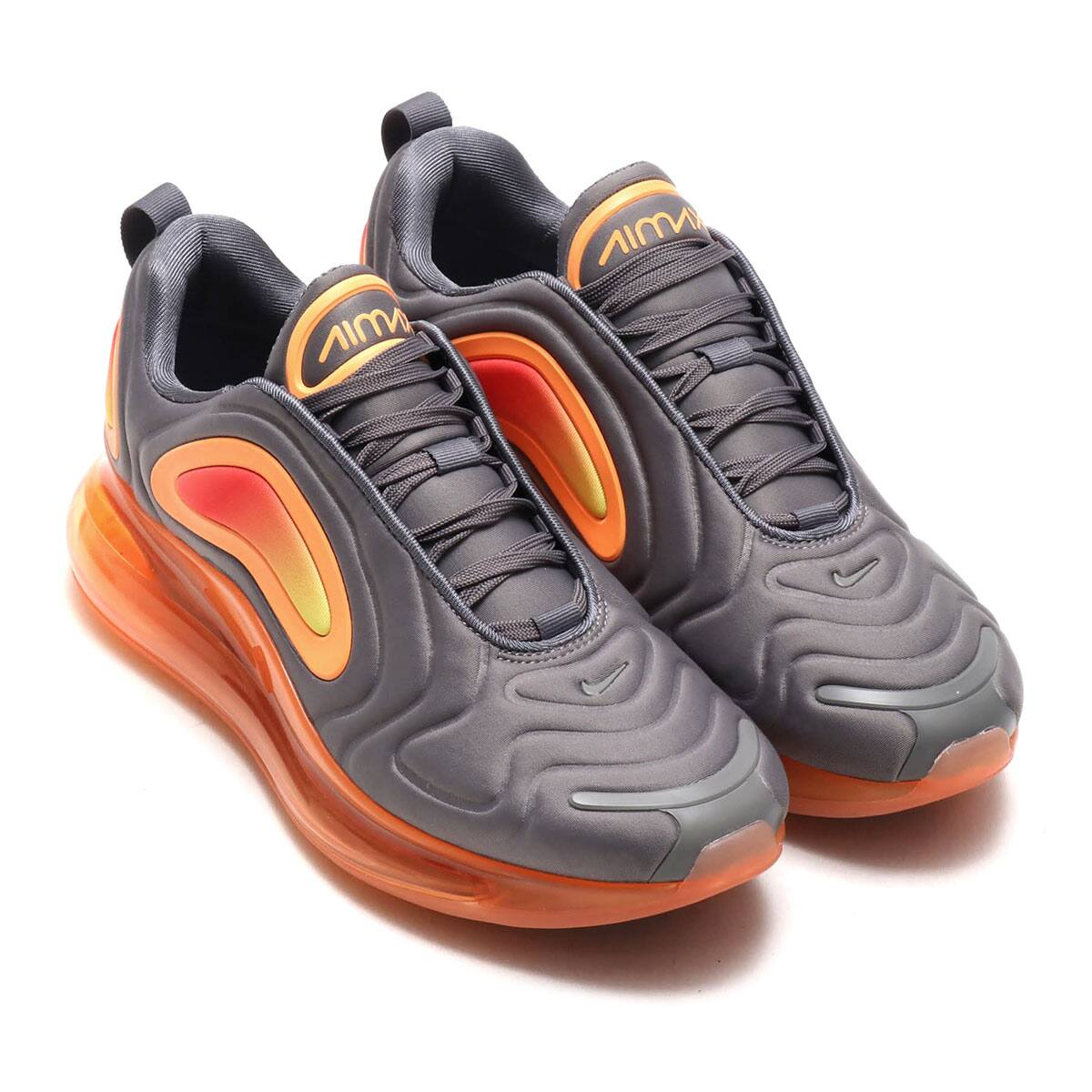 NIKE AIR MAX 720 GNSMK/GNSMK-FL ORNG-ORNG PLS 19SU-S_photo_large