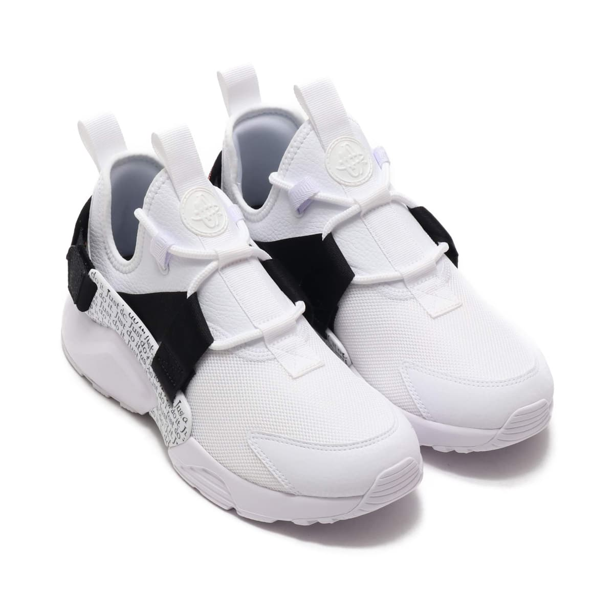 "Nike Air Huarache City Low ""Just Do It"" AO3140 100 White"