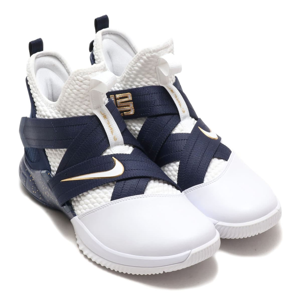dccdf877e5331 NIKE LEBRON SOLDIER XII SFG EP WHITE/WHITE-MIDNIGHT NAVY-MINERAL  YELLOW_photo_large