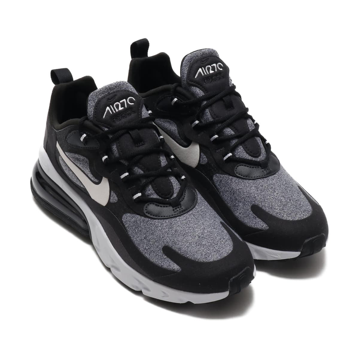 NIKE AIR MAX 270 REACT BLACK/VAST GREY-OFF NOIR 19FA-S_photo_large