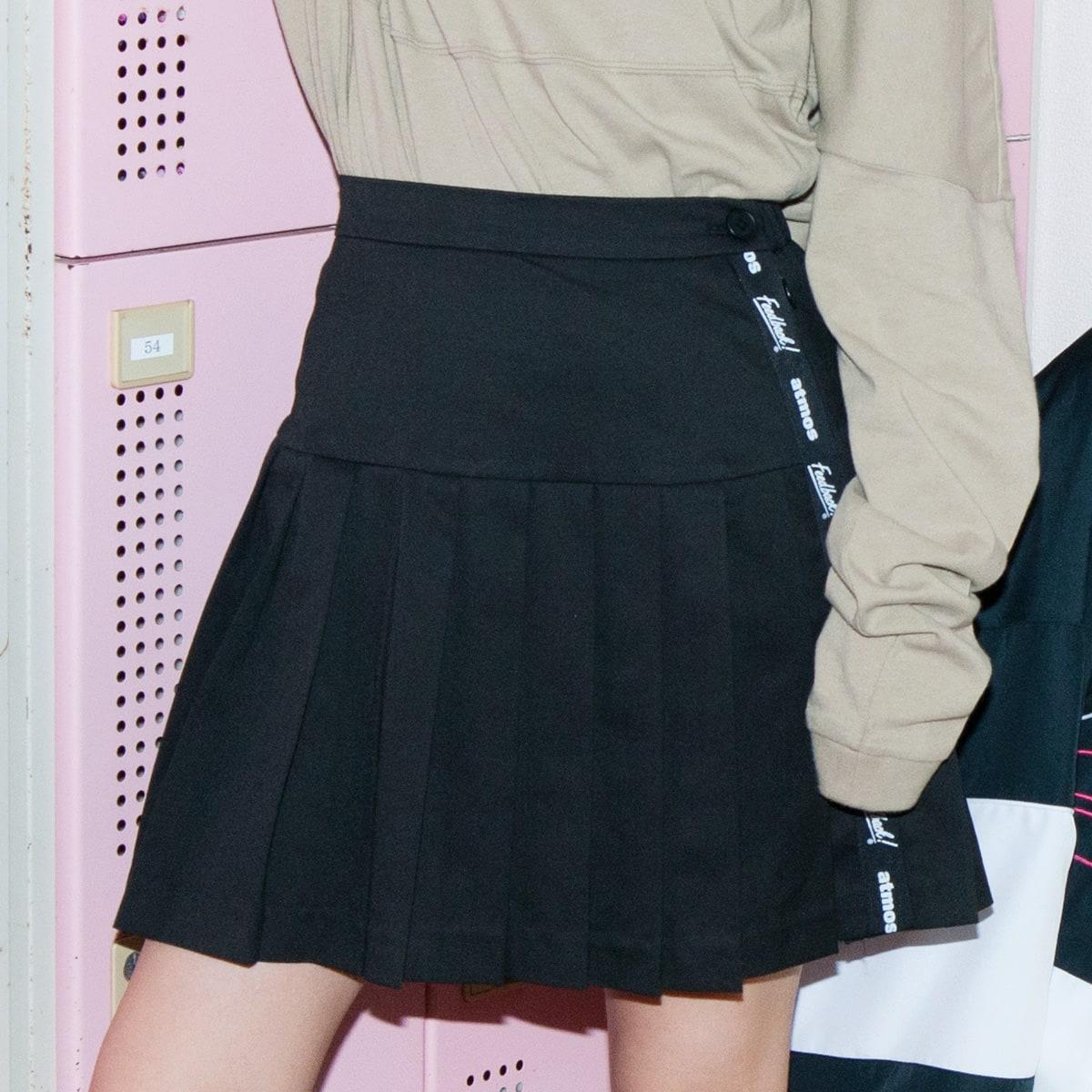 Feedback! × atmos pink プリーツスカート BLACK 19FW-S_photo_large