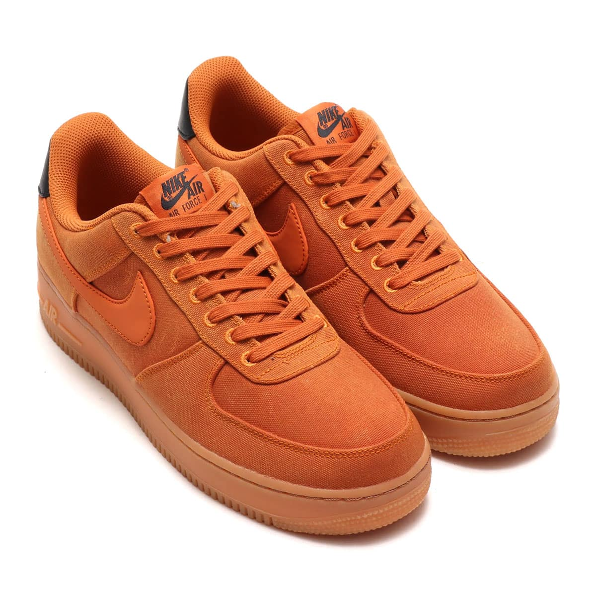 NIKE AIR FORCE 1 '07 LV8 STYLE  MONARCH/MONARCH-GUM MED BROWN-BLACK 18HO-I_photo_large