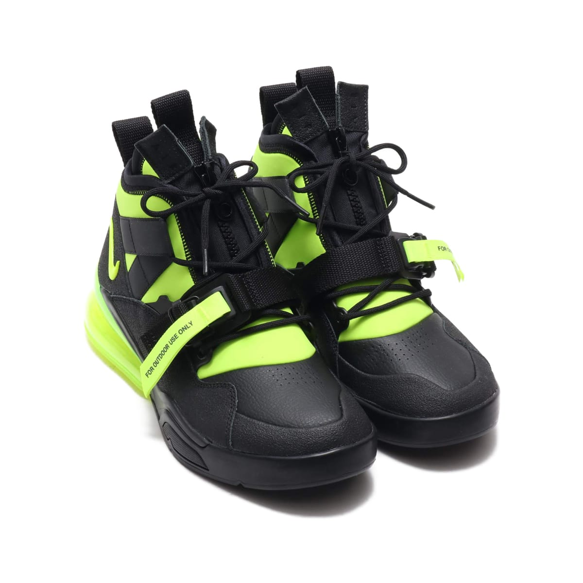 NIKE AIR FORCE 270 UTILITY  BLACK/VOLT 18HO-I_photo_large