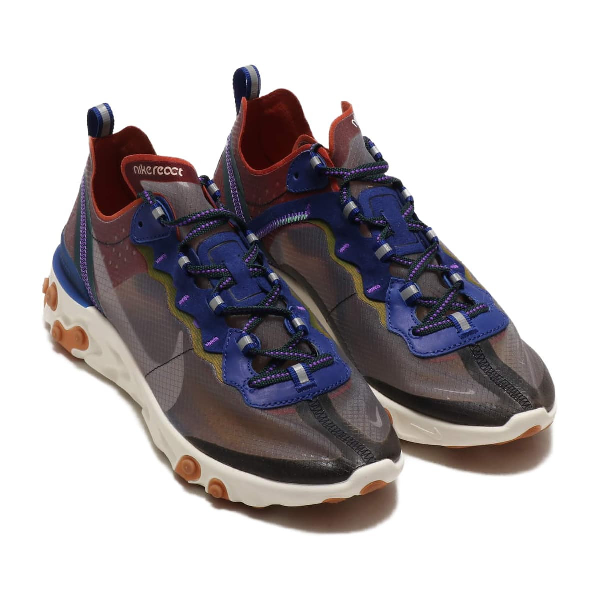 NIKE REACT ELEMENT 87 DSTY PCH/ATMSPHR GRY-DP RYL BL 19SU-S_photo_large