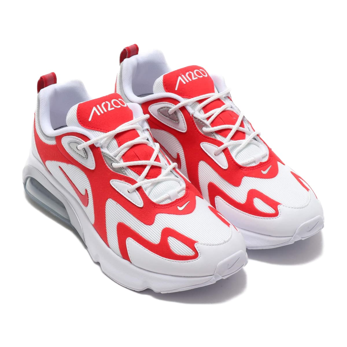 NIKE AIR MAX 200 WHITE/UNIVERSITY RED-METALLIC SILVER 19FA-S_photo_large