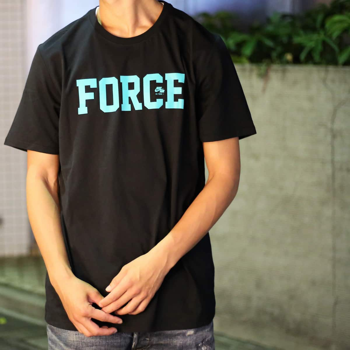 NIKE AS AF 35TH TEE SNKR #1    BLACK 17HO-S_photo_large