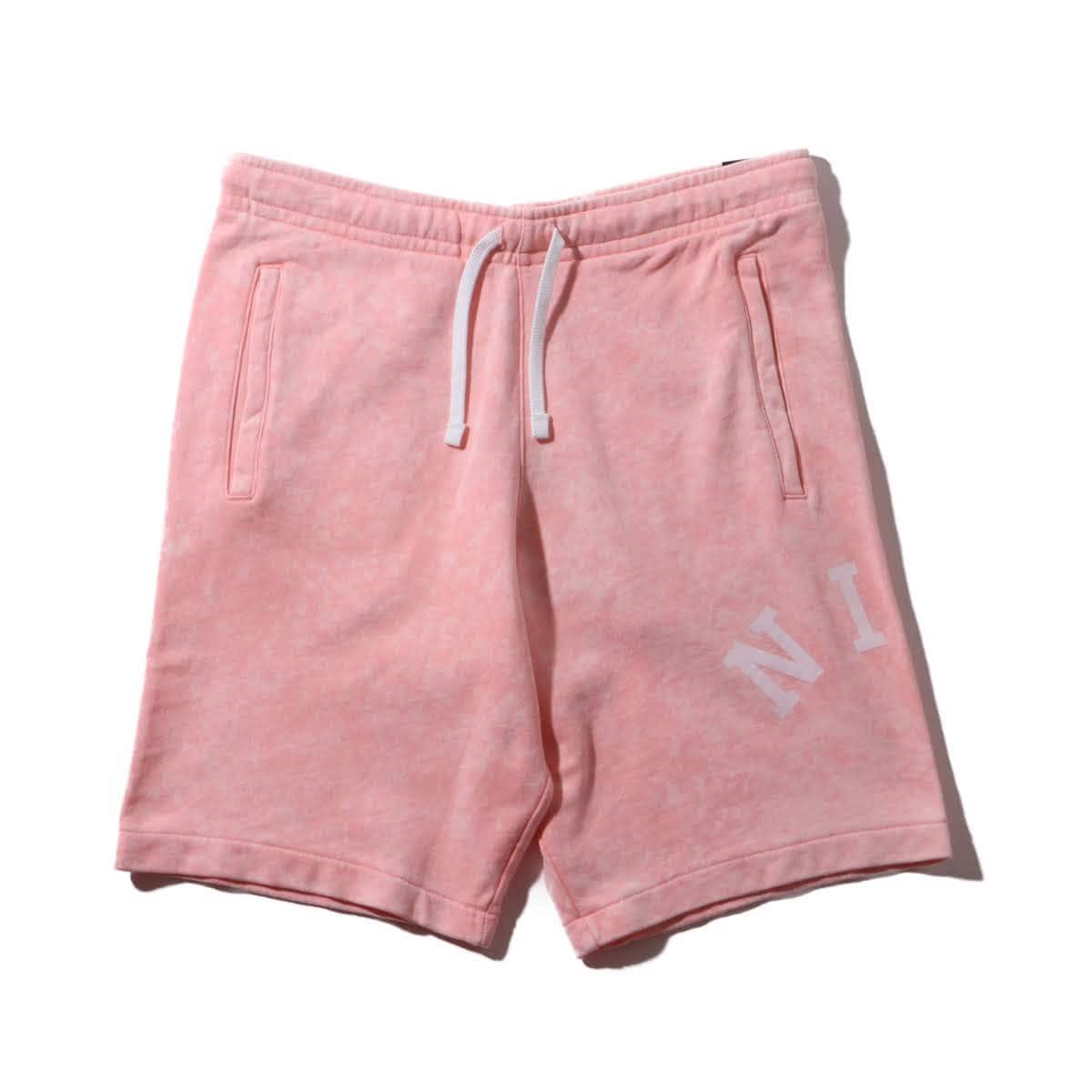 ef8247b76c57 NIKE AS M NSW CE SHORT FT WASH BLEACHED CORAL/SUMMIT WHITE 19SU-I