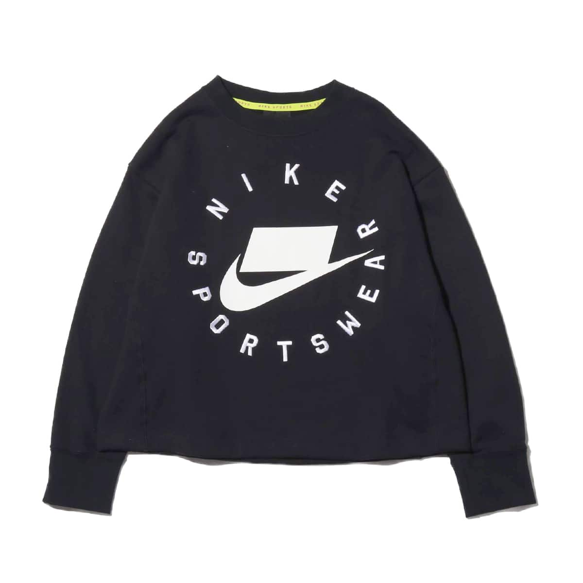 NIKE AS W NSW NSP CREW FLC FT BF BLACK 19SU-I_photo_large