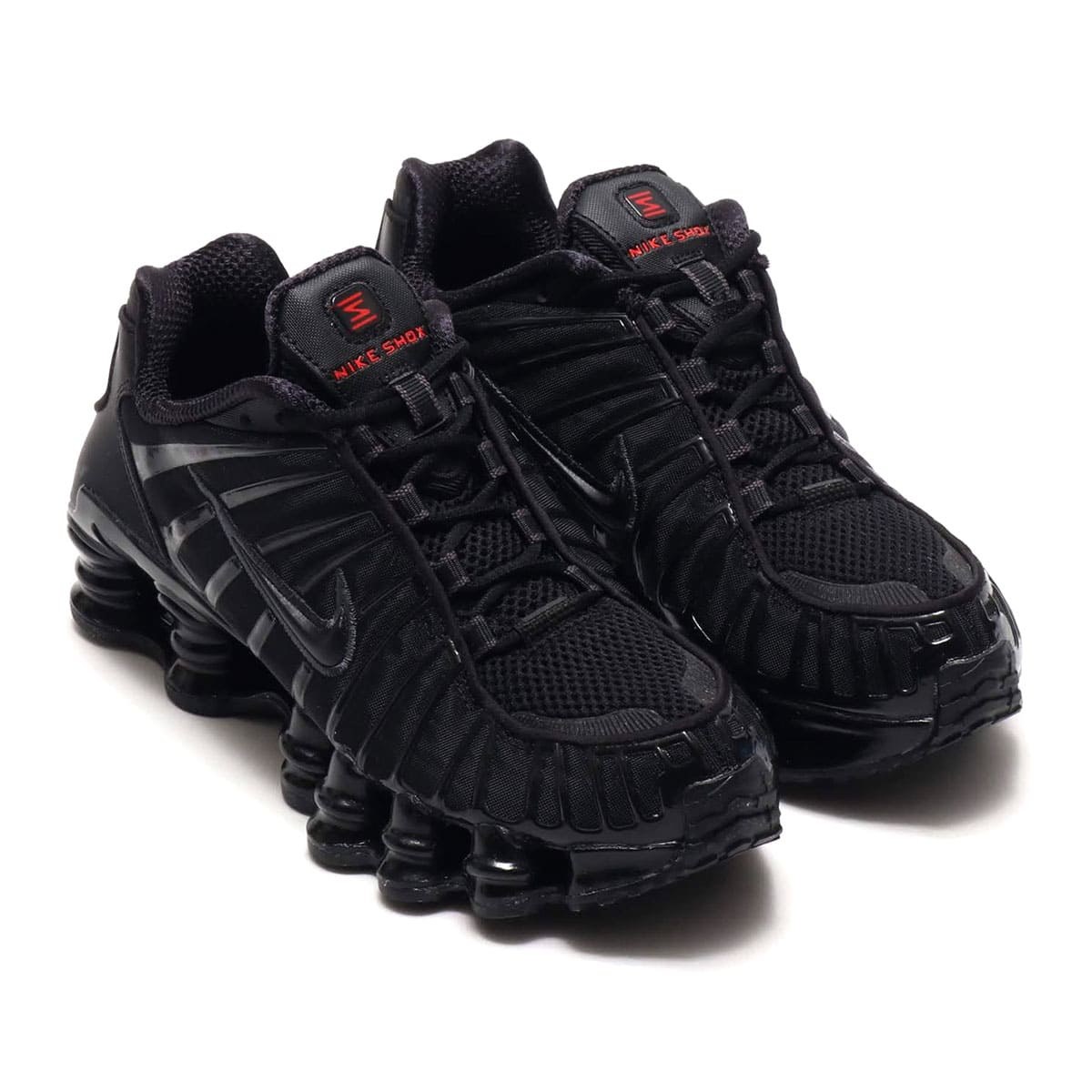 NIKE W SHOX TL BLACK/BLACK-MTLC HEMATITE-MAX ORANGE 19FA-I_photo_large