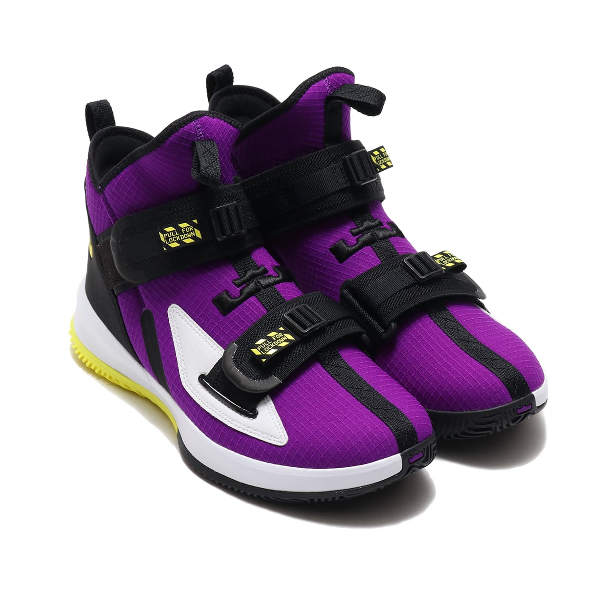 NIKE LEBRON SOLDIER XIII SFG EP VOLTAGE PURPLE/DYNAMIC YELLOW-BLACK 19HO-S_photo_large
