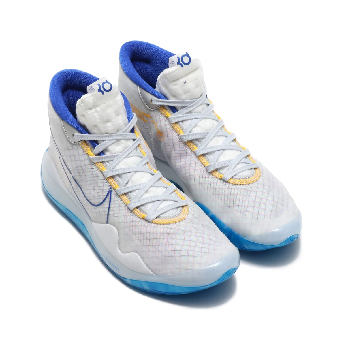 NIKE ZOOM KD12 EP WHITE/MTLC GOLD-GM ROYAL-AMRLL 19SU-S_photo_large