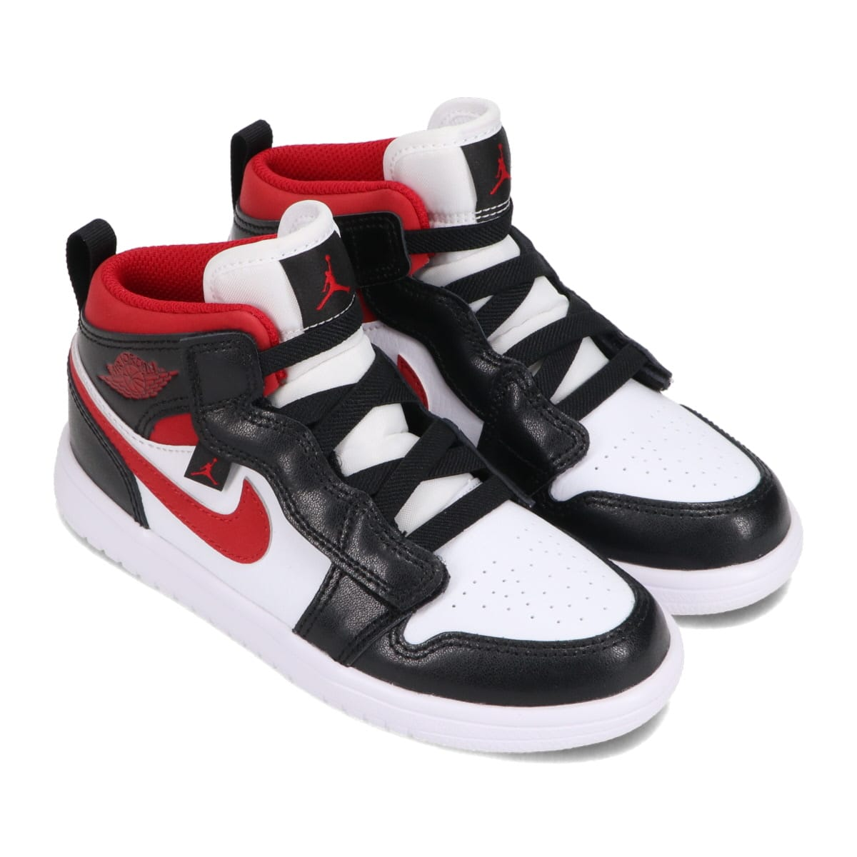 JORDAN BRAND JORDAN 1 MID ALT PS WHITE/GYM RED-BLACK 21SU-I_photo_large