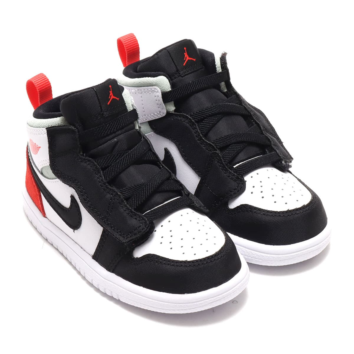 JORDAN BRAND JORDAN 1 MID ALT (TD) WHITE/TRACK RED-BLACK-IGLOO 20FA-I_photo_large