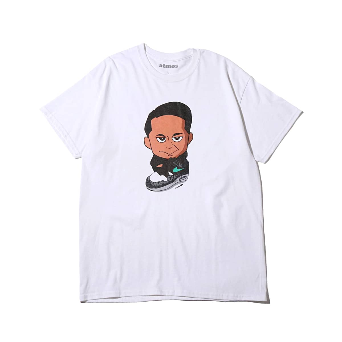 atmos CARTOONMAFIA TEE KOJI WHITE 19SU-S_photo_large