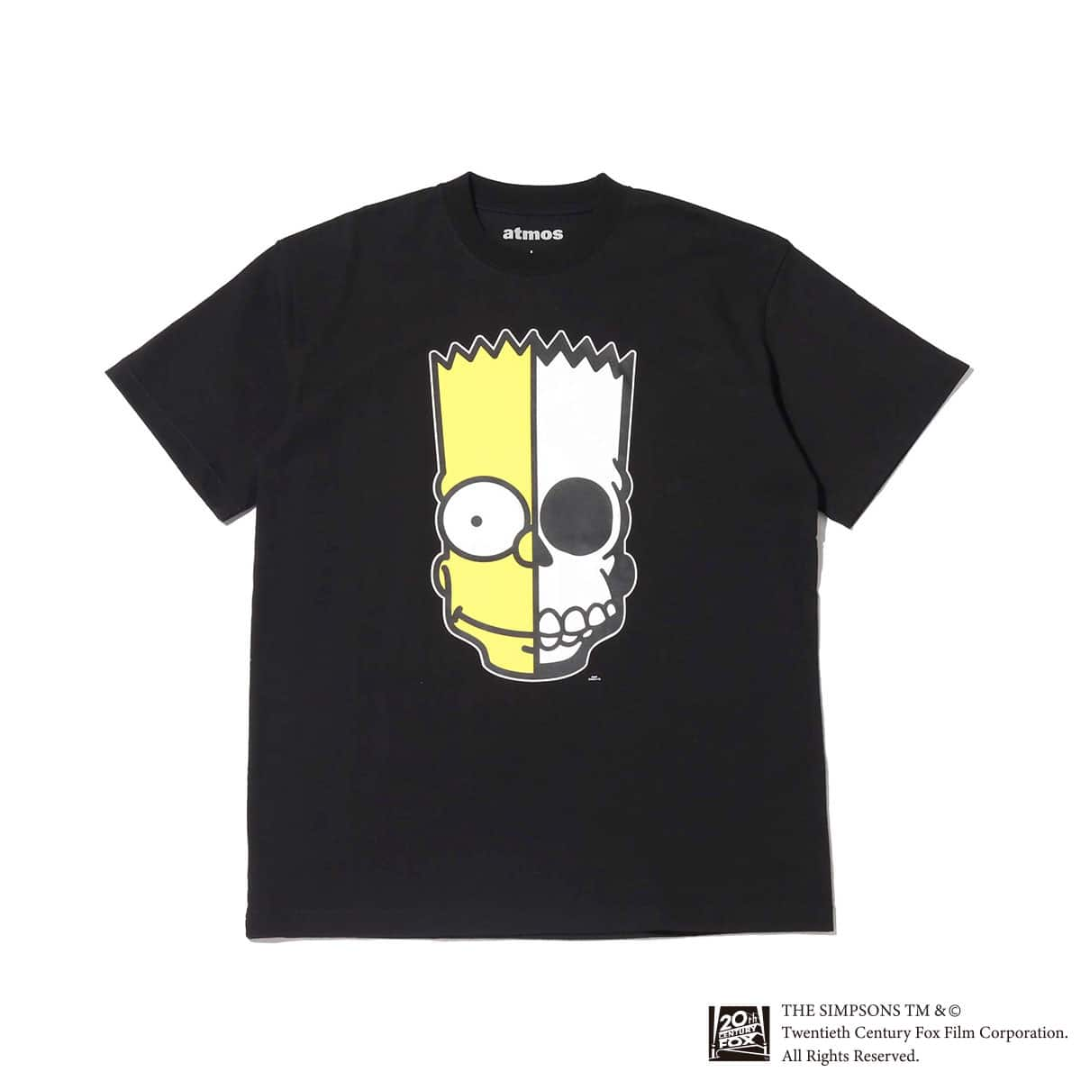 THE SIMPSONS x SECRET BASE x atmos BART X-RAY TEE BLACK 20SP-I_photo_large