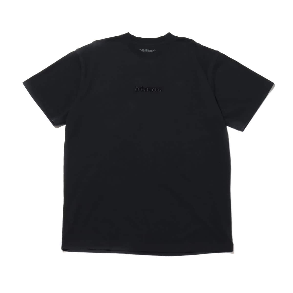atmos OVERDYED LOGO TEE BLACK 20SP-I_photo_large