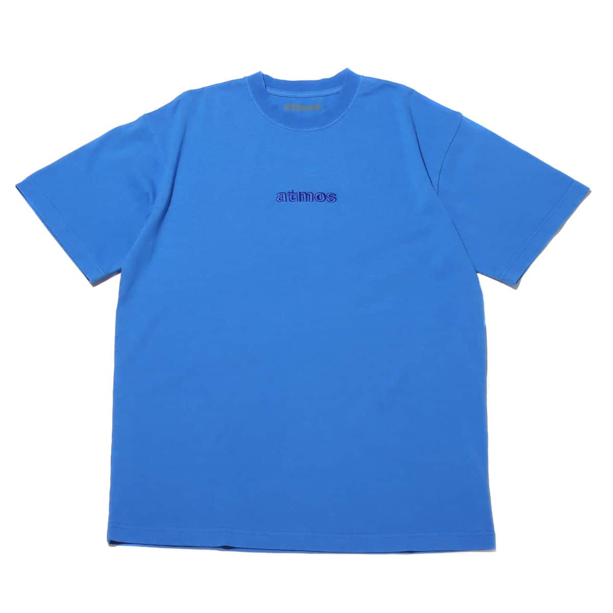 atmos OVERDYED LOGO TEE BLUE 20SP-I_photo_large