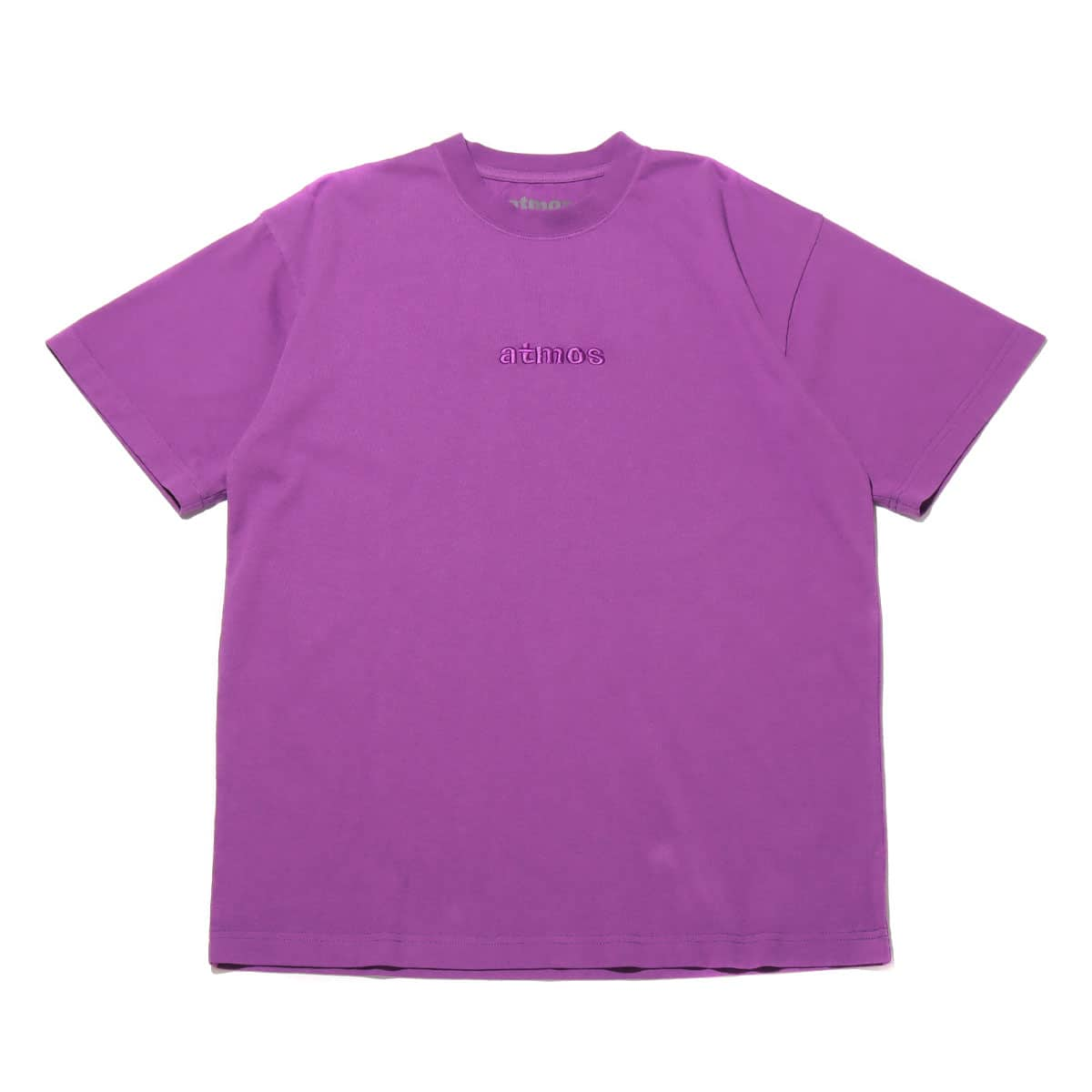 atmos OVERDYED LOGO TEE PURPLE 20SP-I_photo_large