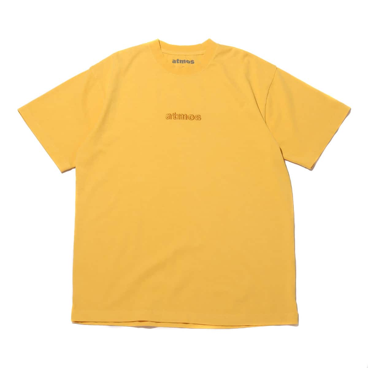 atmos OVERDYED LOGO TEE YELLOW 20SP-I_photo_large