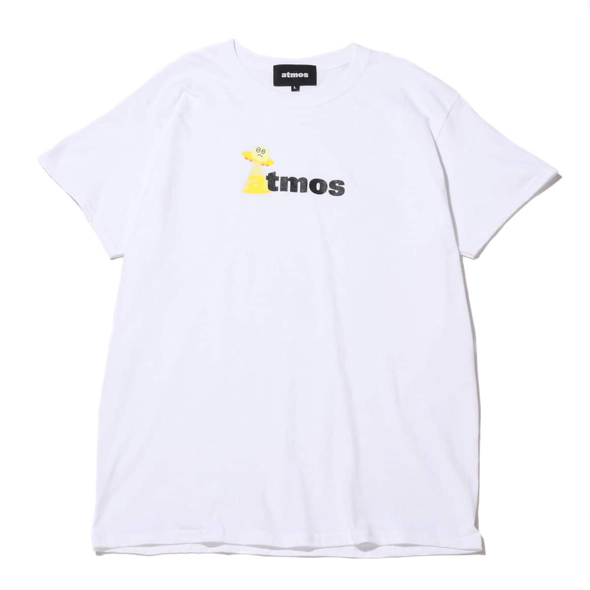 "atmos x BAD MOOD Collaboration tee ""UFO"" WHITE 20SP-S_photo_large"