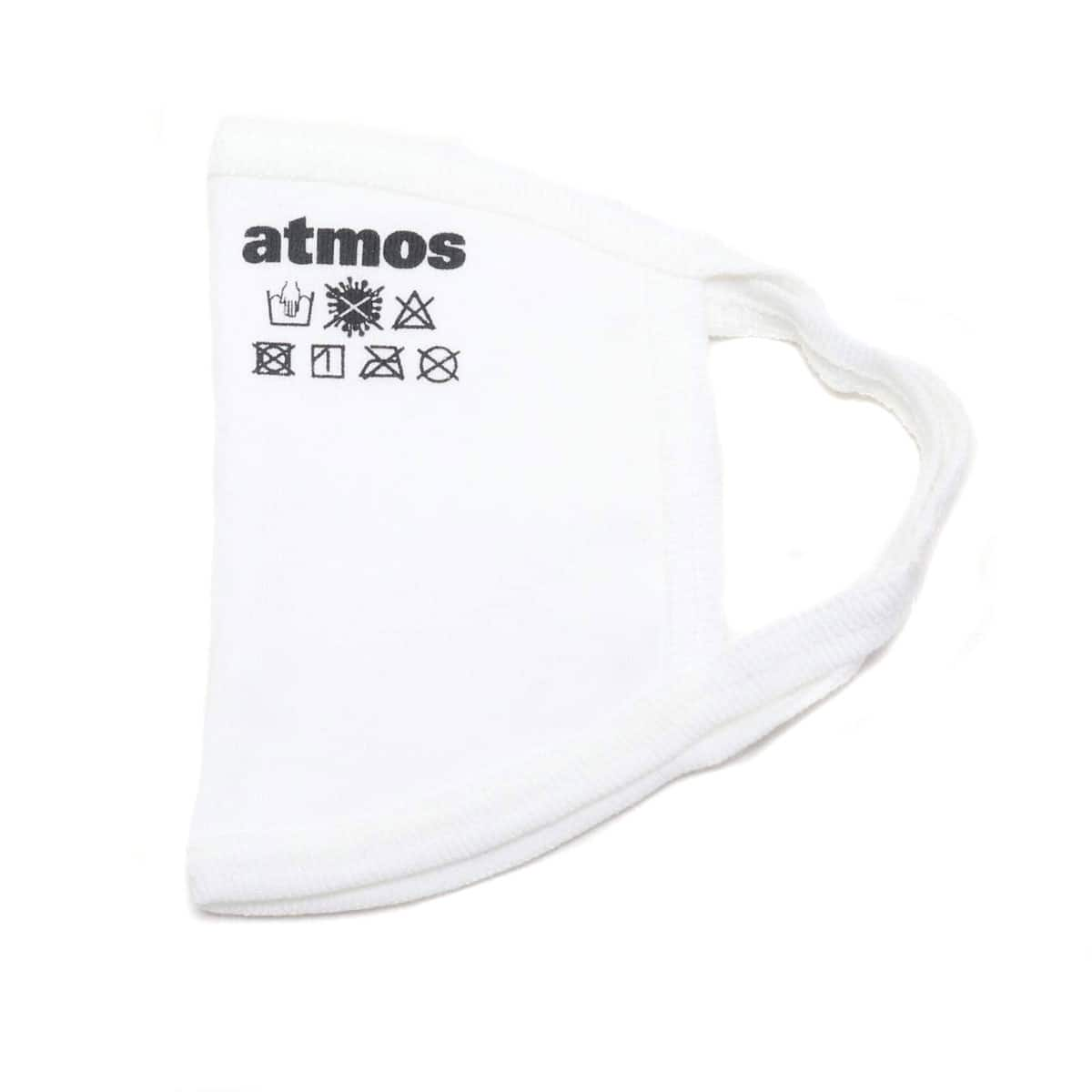 atmos LOGO MASK WHITE 20SP-S_photo_large