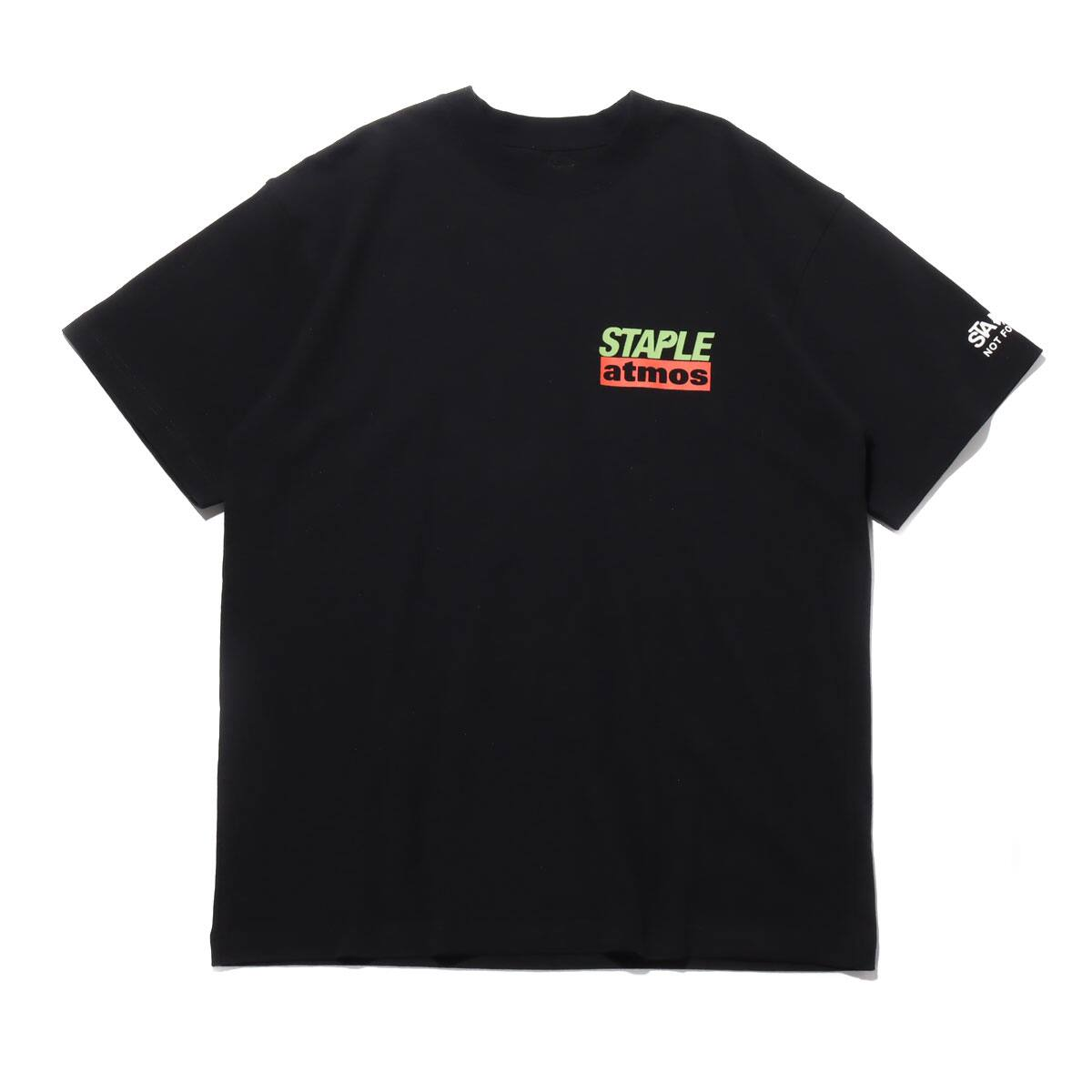 STAPLE x atmos TEE BLACK 20SP-S_photo_large
