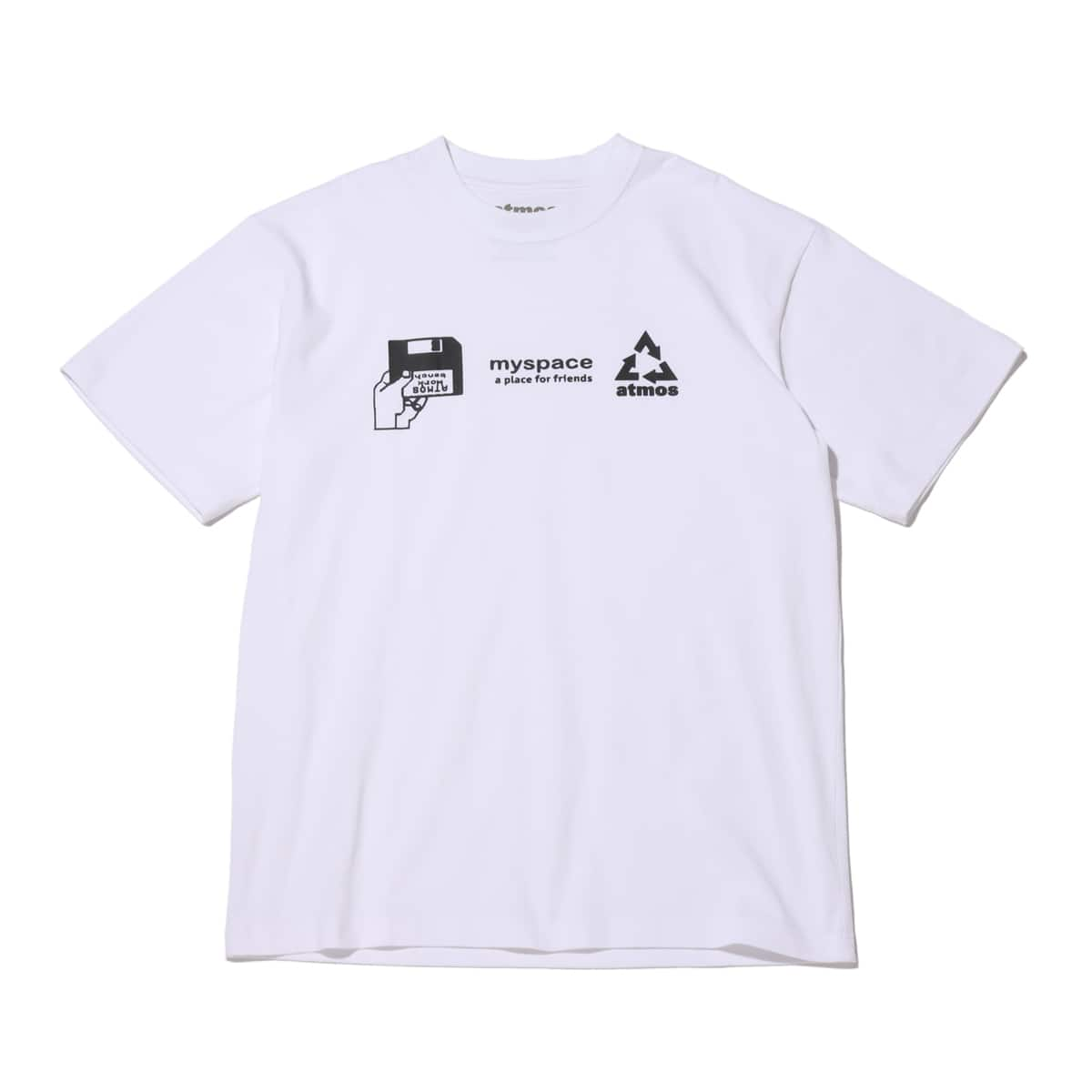 atmos MY SPACE TEE WHITE 20SP-S_photo_large
