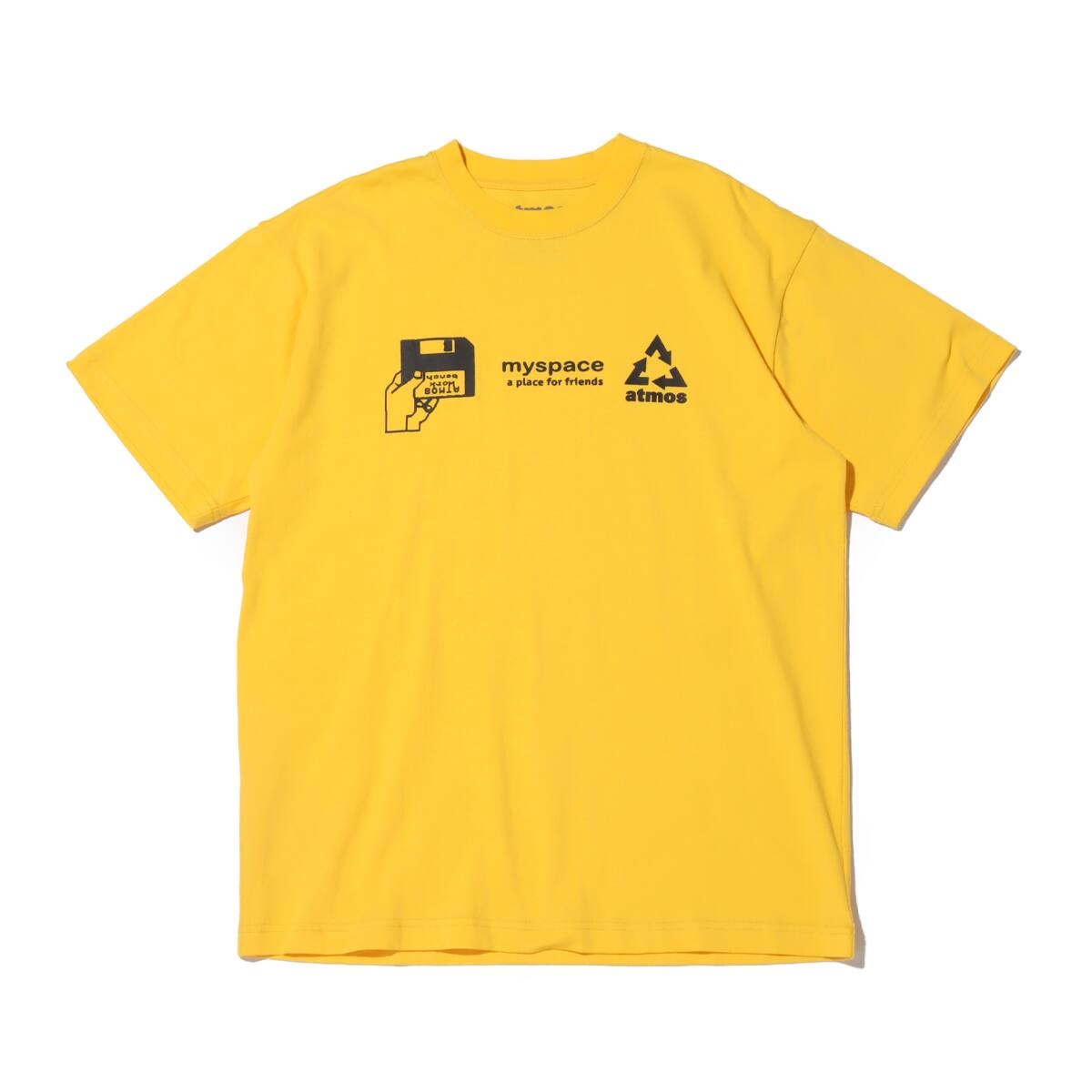 atmos MY SPACE TEE YELLOW 20SP-S_photo_large