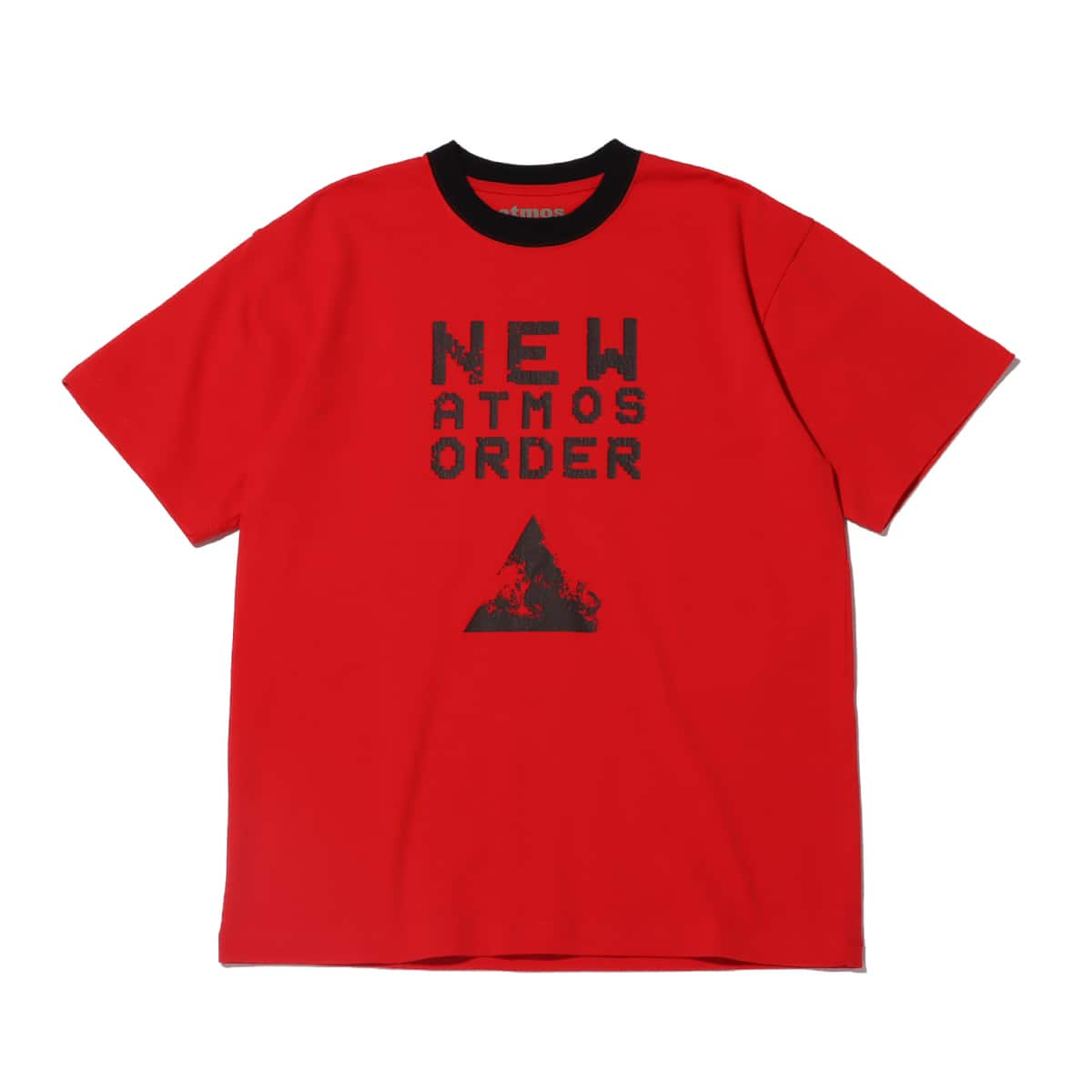 atmos NEW ORDER TEE RED 20SP-I_photo_large