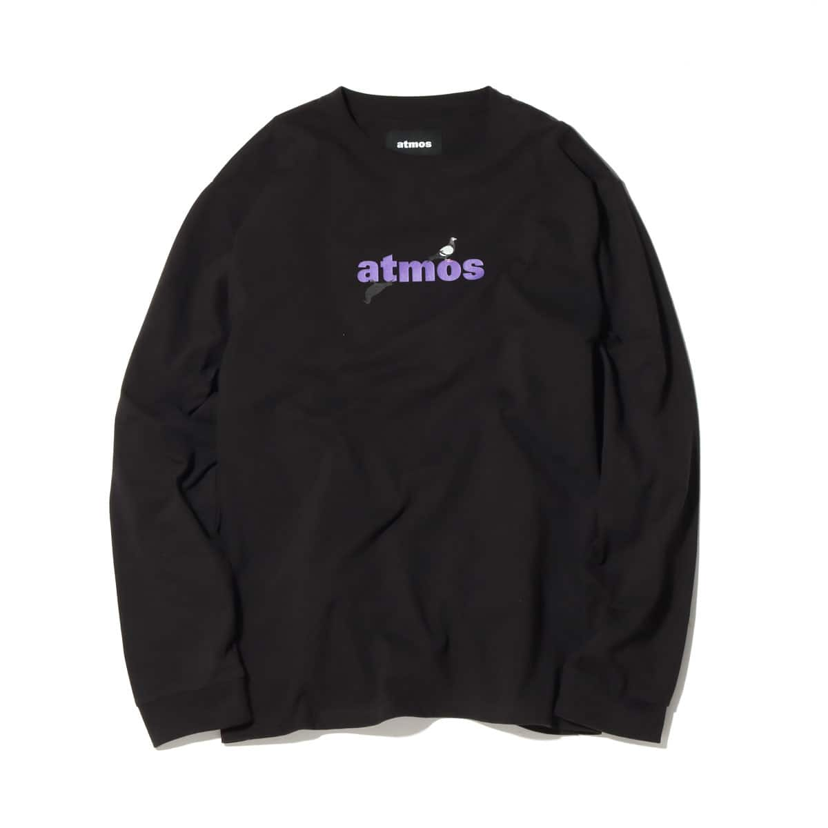 atmos STAPLE x ATMOS LS TEE BLACK 20FA-S_photo_large