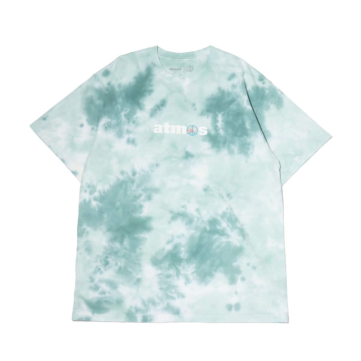 atmos x SeanWotherspoon TIE DYE TEE GREEN 20SP-S_photo_large
