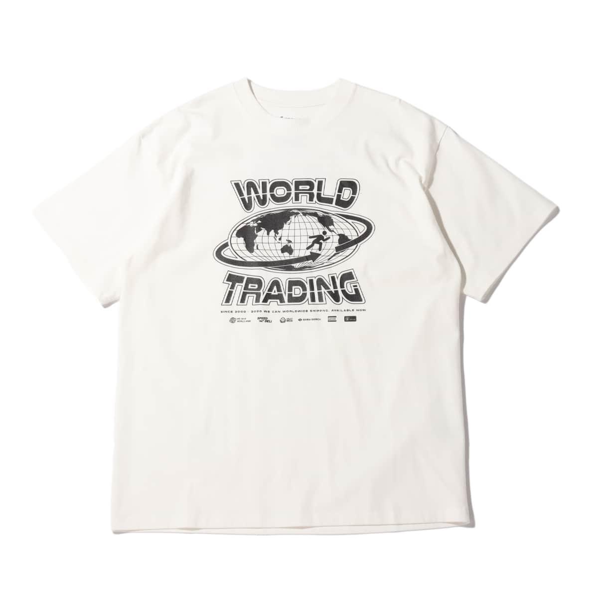 atmos WORLD TRADING TEE WHITE 20FA-I_photo_large