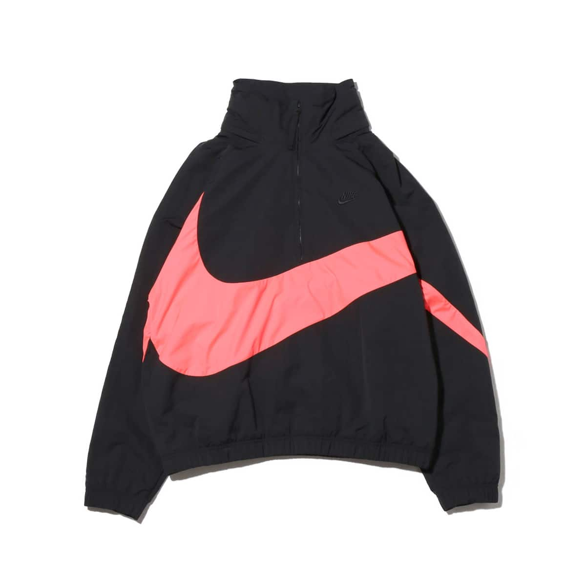 NIKE AS M NSW JKT HD ANRK WVN QS  BLACK/HOT PUNCH/BLACK_photo_large