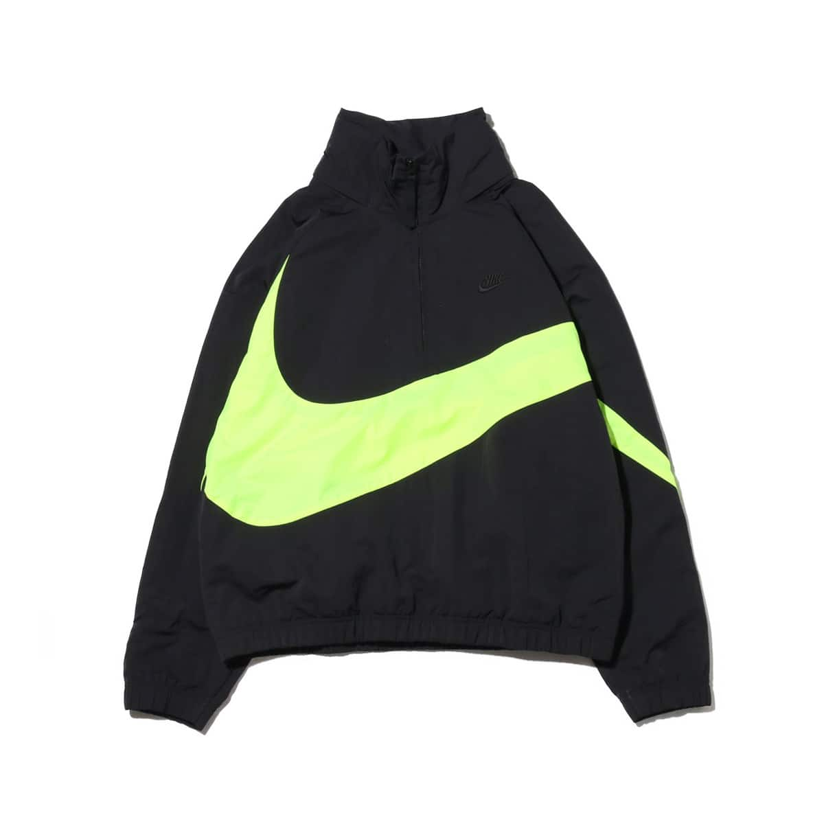 NIKE AS M NSW JKT HD ANRK WVN QS  BLACK/VOLT/BLACK_photo_large