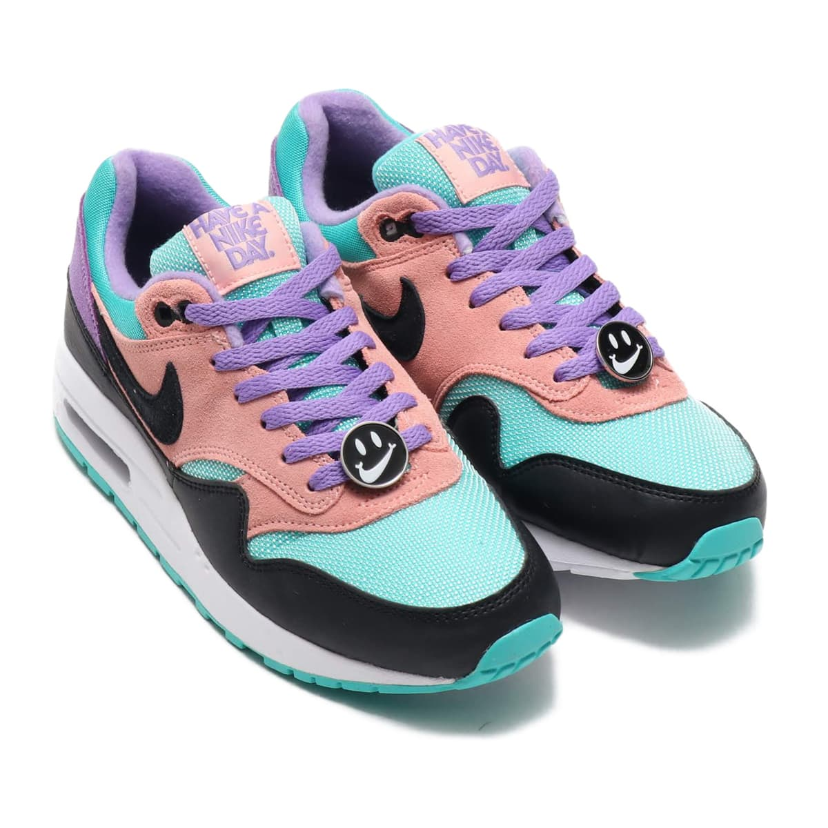 NIKE AIR MAX 1 NK DAY BLACK/WHITE-SPACE PURPLE-BLEACHED CORAL 19SP-I_photo_large