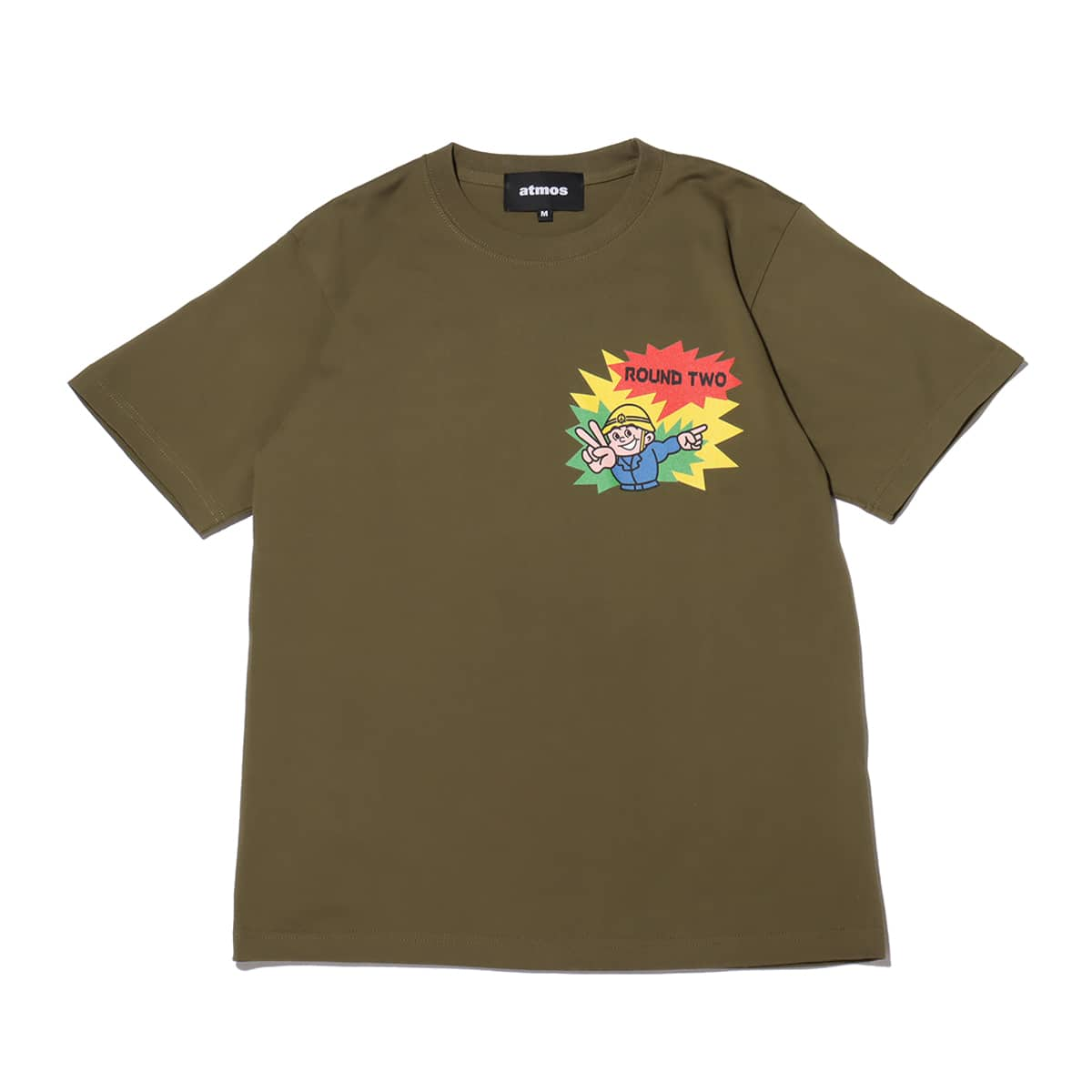 atmos x ROUND TWO SAFETY MAN olive 21SP-S_photo_large
