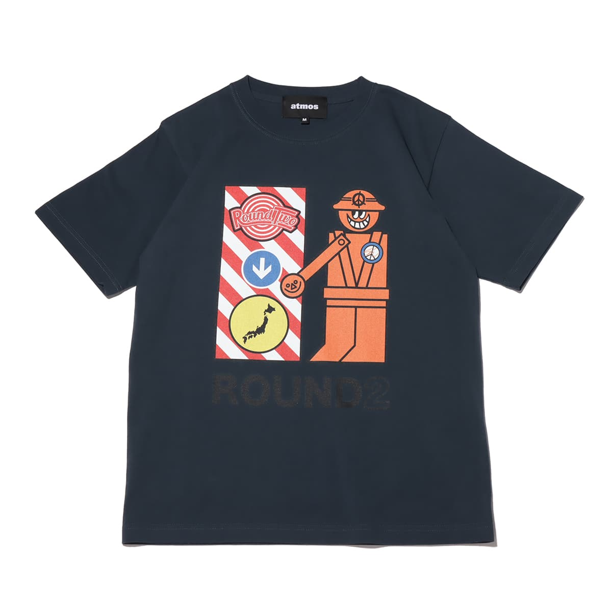 atmos x ROUND TWO CROSS GUARD charcoal 21SP-S_photo_large