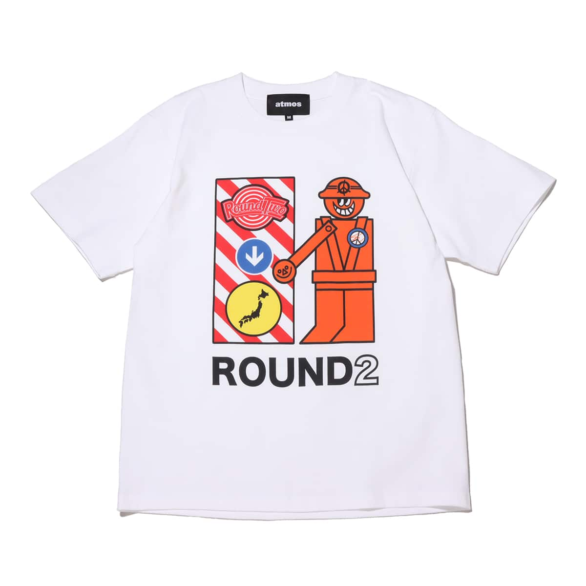 atmos x ROUND TWO CROSS GUARD white 21SP-S_photo_large