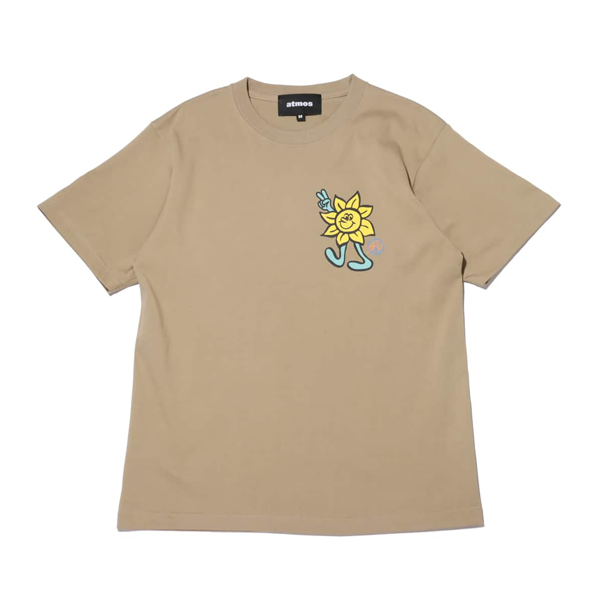 atmos x ROUND TWO SUNFLOWER beige 21SP-S_photo_large