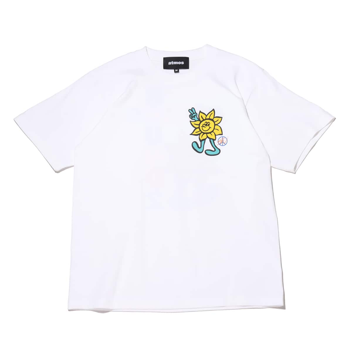 atmos x ROUND TWO SUNFLOWER white 21SP-S_photo_large