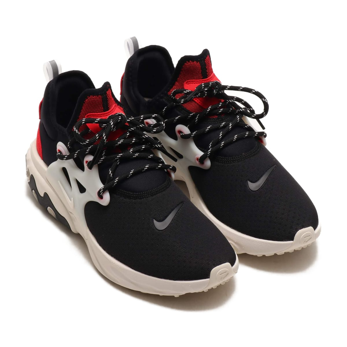 NIKE REACT PRESTO BLACK/PHANTOM-UNIV RED 19SU-S_photo_large