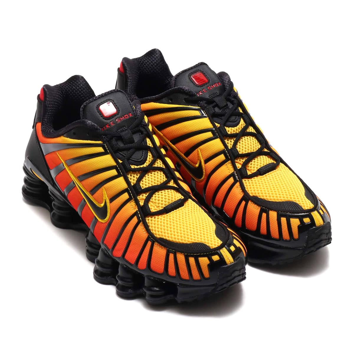 NIKE SHOX TL BLACK/BLACK-AMARILLO-UNIVERSITY RED 19FA-S_photo_large