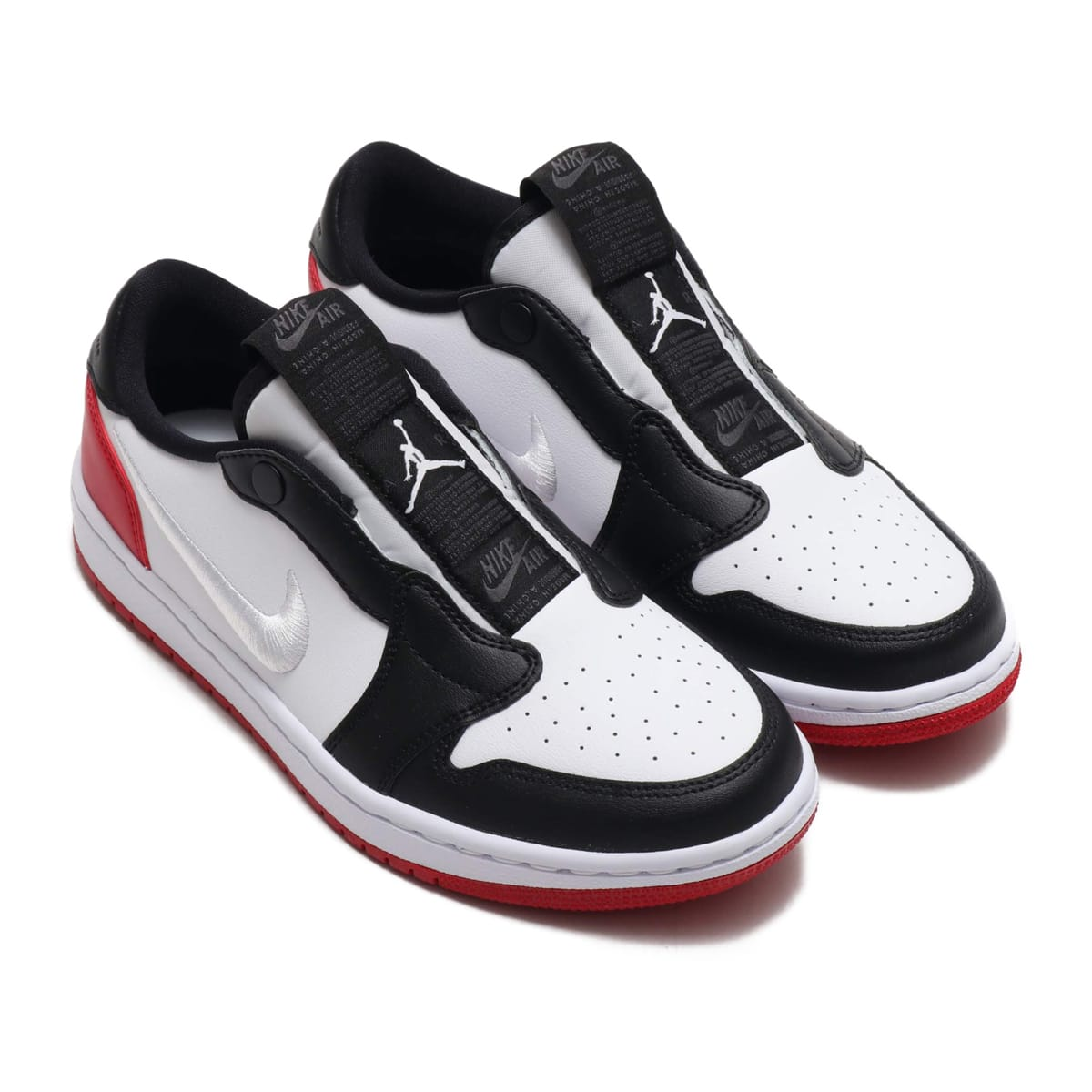 NIKE WMNS AIR JORDAN 1 RET LOW SLIP WHITE/WHITE-GYM RED-BLACK 19FA-S_photo_large