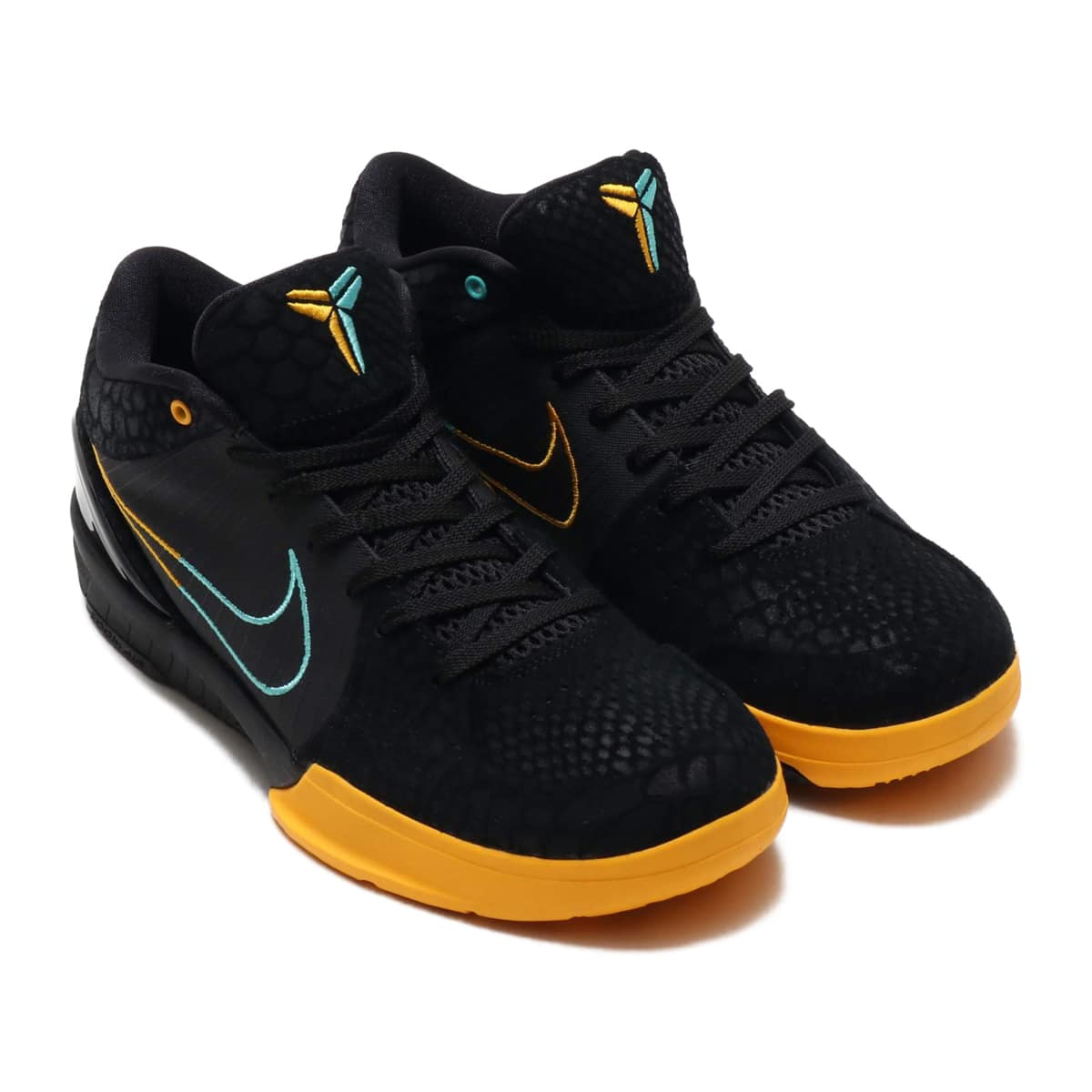 NIKE KOBE IV PROTRO BLACK/AURORA GREEN-UNIVERSITY GOLD 19HO-S_photo_large