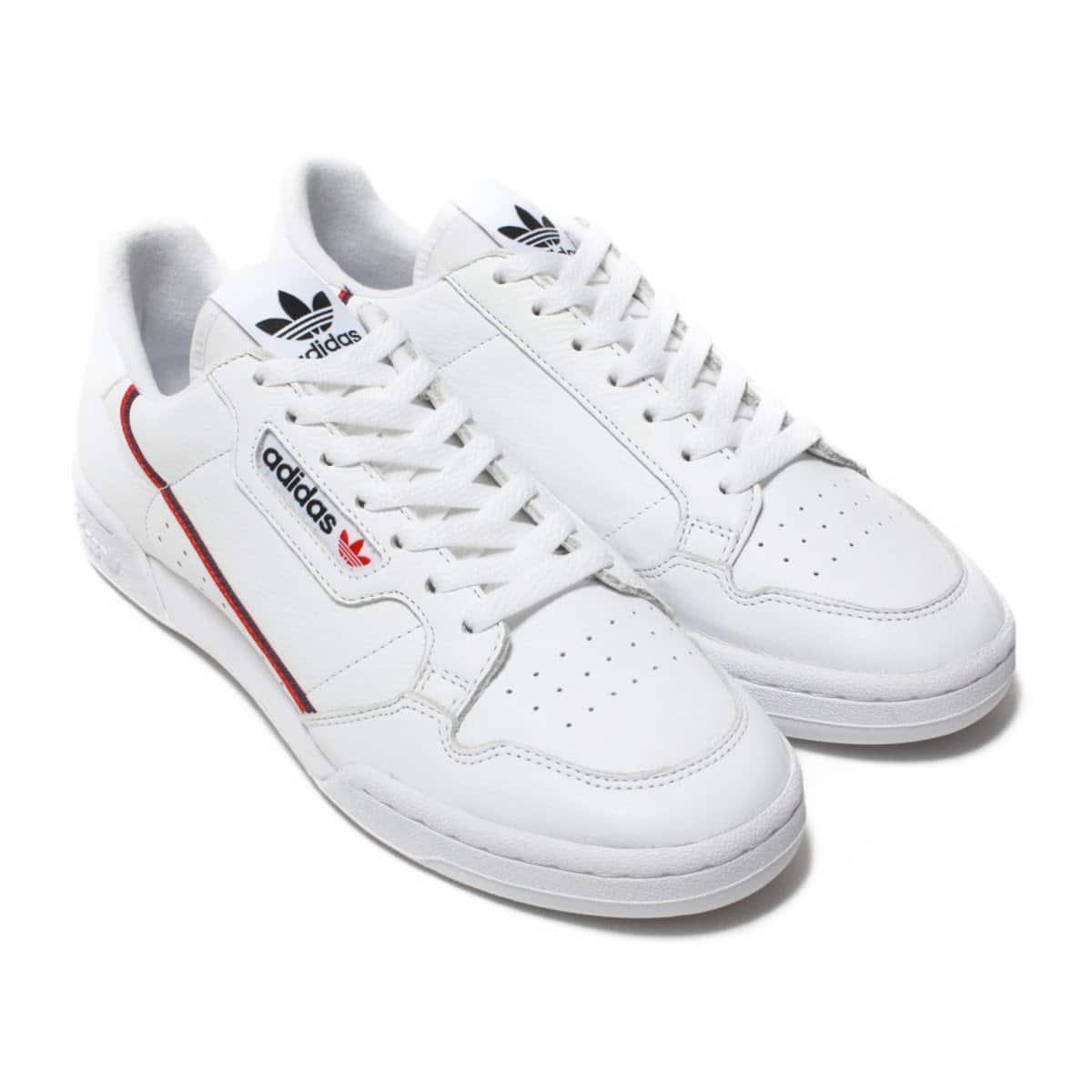 adidas Originals CONTINENTAL 80  FTWR WHITE/SCARLET/COLLEGIATE NAVY_photo_large